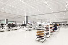 an inside look at McLaren automotive's production centre in woking, UK