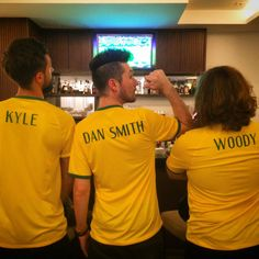 Lol kyle, Dan Smith, Woody. Dan's the only one who gets a last name....