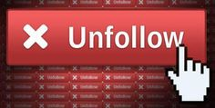 Do you think that purposefully 'unfollowing' or 'unfriending' someone is an act of Cyberbullying?