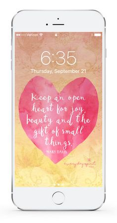 Over 850 wallpapers that lift your spirits. Every Day Spirit Lock Screens is an app of beautiful and positive mobile wallpapers that fill your screen with love. See more at ~ www.everydayspirit.net xo #wallpaper #positivity #joy #mobilewallpaper #inspiration #selflove #gratitude #prayer #inspirationalquotes