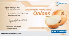It's True, chopping Onions can make you cry. But isn't it better to cry over chopping Onions than crying over serious health concerns that you may incur tomorrow if you don't take onions today? Because apart from adding flavour to your food, Onions come layered with a lot of surprising medicinal benefits. #HealthTips