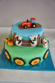 Tractor taart lievelingstaarten.blogspot.com