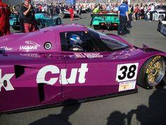 Jaguar XJR12/D Le Mans car