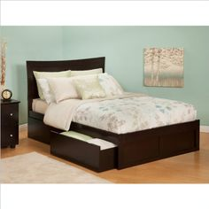 Urban Lifestyle Metro Bed with Bed Dr... for only $460.95