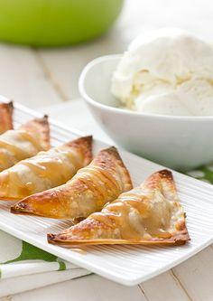 Recipe   Baked Banana Wontons + Coconut Caramel Sauce- best dessert ever! :)