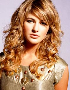 medium length hairstyles for curly hair