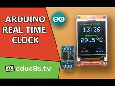 Arduino Project: Real time clock DS3231 and 1.8 Color TFT display ST7735 - YouTube
