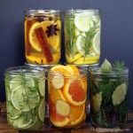 When you have plenty of citrus fruits and herbs in your garden, don't let them end up at trash. Try to make them into these natural and giftable air fresheners.