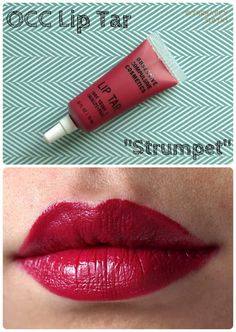 OCC Lip Tar - Strumpet - Cool dark red leaning pink. I don't have this color, but I really like this brand. It was a great sale find at Sephora!