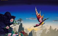 Morning Dragon by Roger Dean,