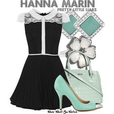 Inspired by Ashley Benson as Hanna Marin on Pretty Little Liars.