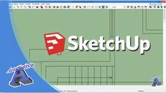 Curso de SketchUp – Módulo Intermediário – Aula 04/29 Importação de Arqu...