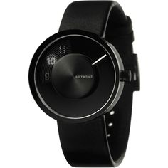 Issey Miyake VUE Black Watch | Leather