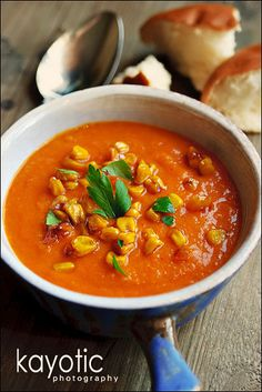 Sweet Potato Pepper Soup