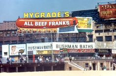 Hygrade's All Beef Franks @ Coney Island