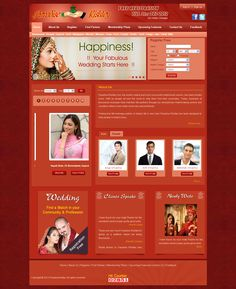 This Project design for PARADISE RISHTEY online matrimonial site and i used software photoshop (layout designing), Dreamweaver, Coral Draw More :- Htlm, JavaScript, Jquiry, and Css.
