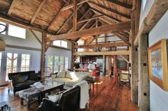 barn-home-interiors-modest-ideas-green-mountain-timber-frames-vermont-barn-homes-interior-converted-barn-into-home-interiors.jpg (1248×832)