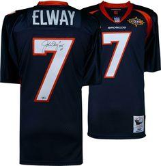 29b96c407 Autographed John Elway Broncos Jersey Fanatics Authentic COA Item 8358232   sportsmemorabilia  autograph