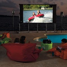 HD Indoor/Outdoor Theatre System?  Yes, please. http://www.frontgate.com/hd-indoor-2foutdoor-theatre-system/pool-beach/outdoor-electronics/tvs-video-systems/368602