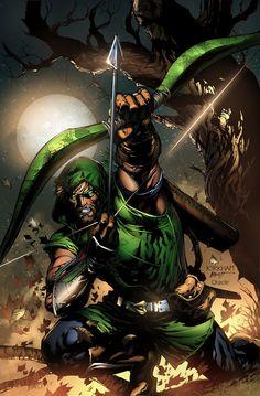 Tyler Kirkham Green Arrow by Mystic-Oracle.deviantart.com on @deviantART