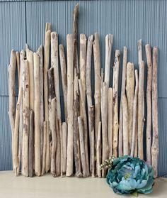 Natural Straight Driftwood Sticks/ Branches by ElaLakeDesign $35.00 #driftwood #driftwoodsticks #coastalliving #beachcomber #coastaldecoration #beachwedding #DIYbeachweddingcenterpiece