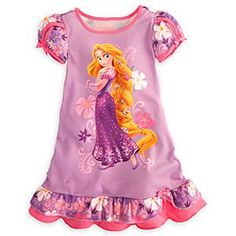 Rapunzel Nightshirt for Girls i want this soooooo bad!!!