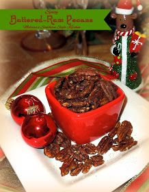 Melissa's Southern Style Kitchen: Spicy Buttered-Rum Pecans