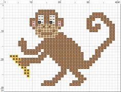 Free monkey cross stitch. Google Image Result for http://2.bp.blogspot.com/-ZnhW0LxxXaE/UBliA836k-I/AAAAAAAABtA/wf224FNh4So/s1600/cartoon%2Bmonkey%2Bwith%2Bbanana.png