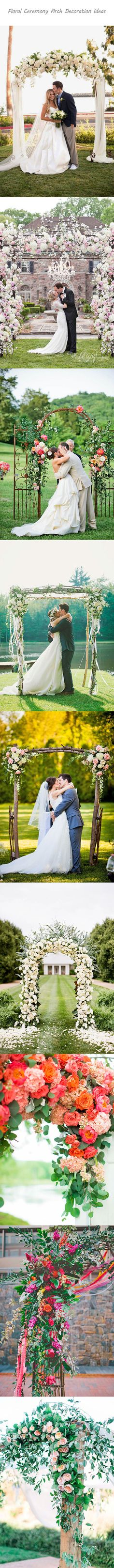 27 Floral Ceremony Arch Decoration Ideas