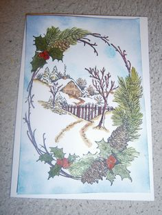 Stampendous Christmas-Cottage