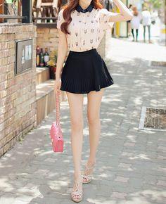 #ulzzang #kfashion #skirt