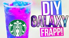 DIY GALAXY STARBUCKS   Vanilla Bean Frapp