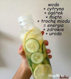 Przepis na napój energetyzujący...