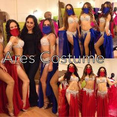 Ares Costume, new group costume design