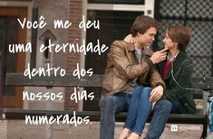As 20 frases mais memoráveis do cinema - Beauty I Promise You, Tfios, The Fault In Our Stars, Sad Girl, Secret Life, Movie Quotes, Dreamworks, Cinema, Thoughts
