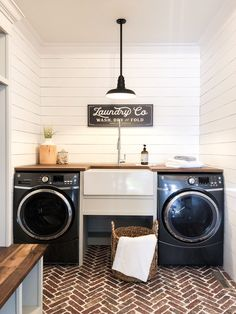 Farmhouse style laundry room with Sinkology Bradstreet II Fireclay Farmhouse S. Farmhouse style laundry room with Sinkology Bradstreet II Fireclay Farmhouse S. Farmhouse style laundry room with Sinkology Bradstreet II Fi