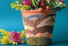 DIY Fancy Flower Pot