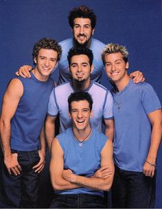 Ahhh! Pretty much any boy band and their AWESOME dance moves!! They were my favorite though!