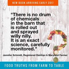 Yes chemicals are used to protect your #food from bugs weeds molds and other pests. However products go through a strict approval process and application is an exact #science one which #farmers take very seriously as @dirtdietitian noted in Food Truths from Farm to Table due March 20. Besides keeping your food and their land healthy with precise chemical use farmers are protecting their own #health. #foodtruth #farming #agronomy #soil #agchat #stand4science