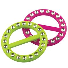 Private Island Party  - 80's Neon T-Shirt Clips, $0.70- $1.99   These bright neon t-shirt clips are the perfect accessory to any 80's-themed costume.
