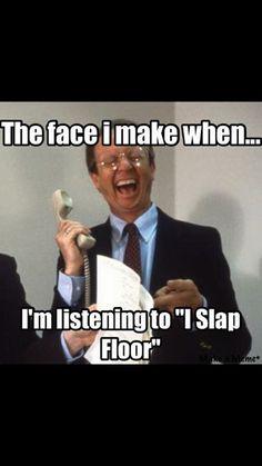 Credit: Gabriel S.   Adventures in Odyssey meme   I Slap Floor   Chuck Bolte