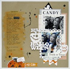 Trick or Treat - Pretty Little Studio by Monique L.  at @studio_calico