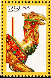 US Stamp Gallery >> Camel