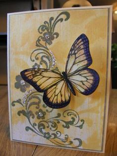 using Stampin Up Wonderful Wings