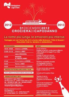 Crociera di Capodanno Lago d'Iseo http://www.panesalamina.com/2012/7837-crociera-di-capodanno-lago-diseo.html
