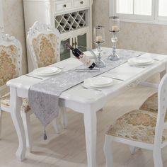 Shiny diamond velvet tassel handmade wedding table runner bed flag