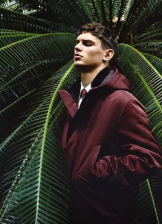 Arthur Gosse at VNY Model in an editorial focused on Paul Surridge's debut collection for Italian label Z Zegna, photographed and styled by magazine Editor-in-Chief Milan Vukmirovic for Fashion for Men Spring Summer 2013