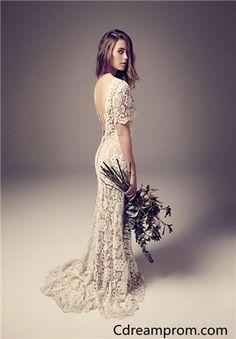 Lace wedding dress , Simple dresses