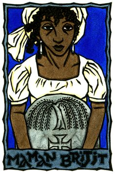 Maman Brijit, Vodou Protectress of Cemeteries./I will guide and protect you on your difficult journeys.