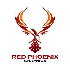 Red Phoenix Graphics Logo